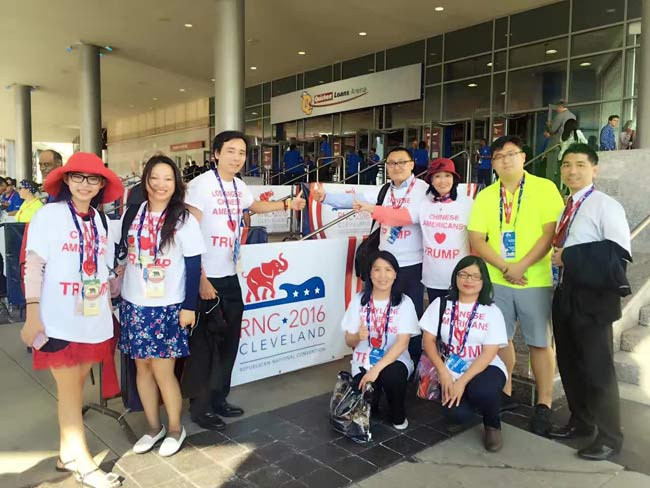 CAFT members and CAFT founder David Wang Tian (third from left). Photo: Courtesy of David Wang Tian