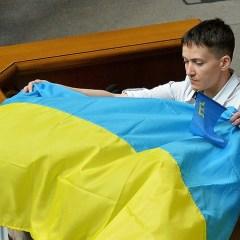 Голодающая Савченко примет участие в праздничном ужине в США
