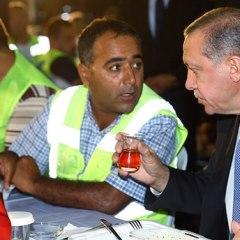What's happening between Erdogan and the workers?