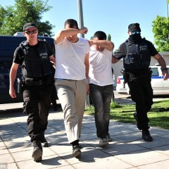 Turkish officers fleeing coup go on trial in Greece
