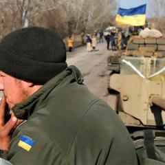 Russian 'military men' taken captive in Ukraine