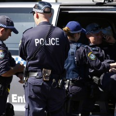 Australian police arrest man over attempted attack on police station