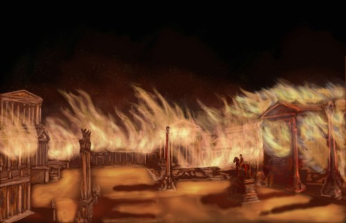 Rome Burning by roy020