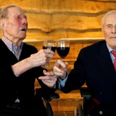 Belgian twins celebrate 103 years living side by side