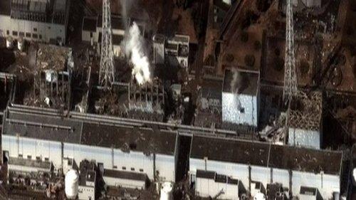 The Fukushima I Nuclear Power Plant after the 2011 Tōhoku, Japan earthquake