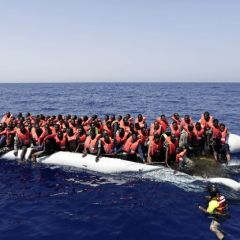 Italian coastguard: Some 6,500 migrants rescued off Libya