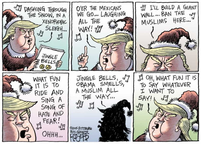 Trump's Song of Hate and Fear