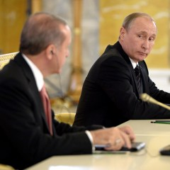 Putin and Erdogan discuss Russian-Turkish cooperation and Syria