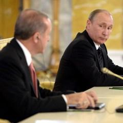 Putin and Erdogan discuss Russian-Turkish cooperation and Syria