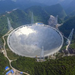 World's largest radio telescope put into use in China