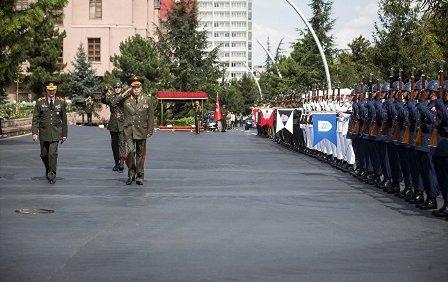 Генерал армии Валерий Герасимов в ходе визита в Анкару