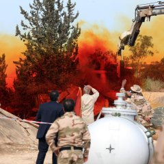 Libya hands over last stockpile of chemical weapon ingredients