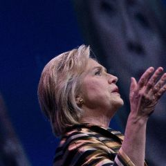 Clinton, back on trail, looks to break Trump momentum