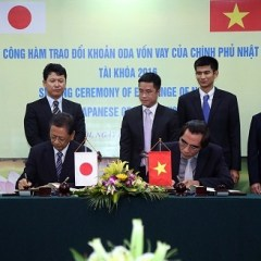 Japan loans Vietnam US$108.2 m