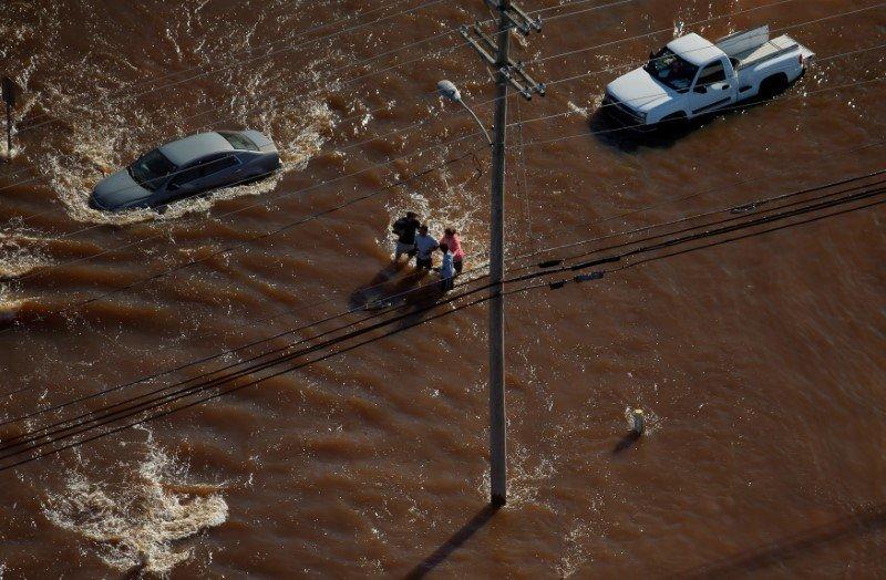 По последним данным, число погибших в результате урагана в США составляет 33 человека.