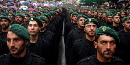 Бойцы ливанской «Хизбаллы».