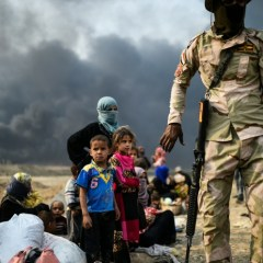 Iraqi forces evacuate 1000 civilians from Mosul front lines