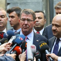 Pentagon chief sees role for Turkey in Mosul battle