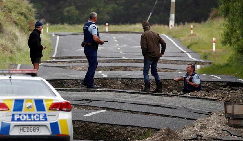 Ранее сообщалось, что в воскресенье в Новой Зеландии произошло землетрясение магнитудой 7,9, спровоцировавшее цунами.