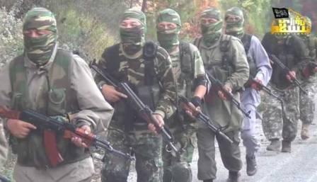 Боевики «Исламской партии Туркестана» в Сирии