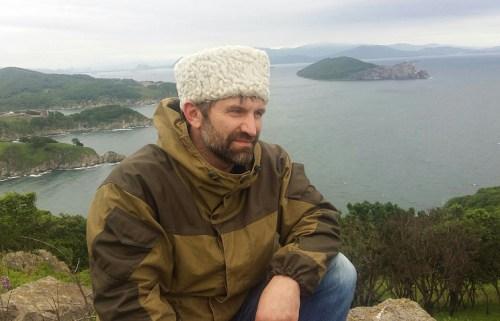 Казак из Санкт-Петербурга Юрий Бугаев на Дальнем Востоке