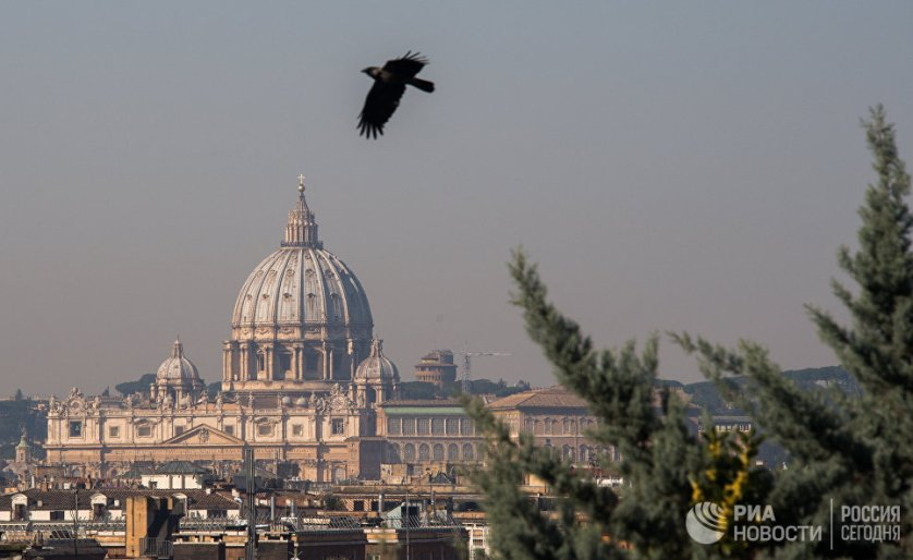 Столица Италии - Рим.