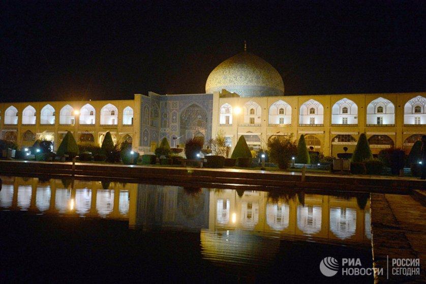 Город Исфахан в Иране.