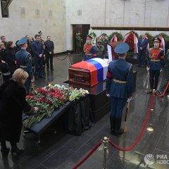 Прощание с «маэстро дипломатии» Виталием Чуркиным