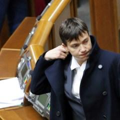 Надежда Савченко прибыла в Донецк