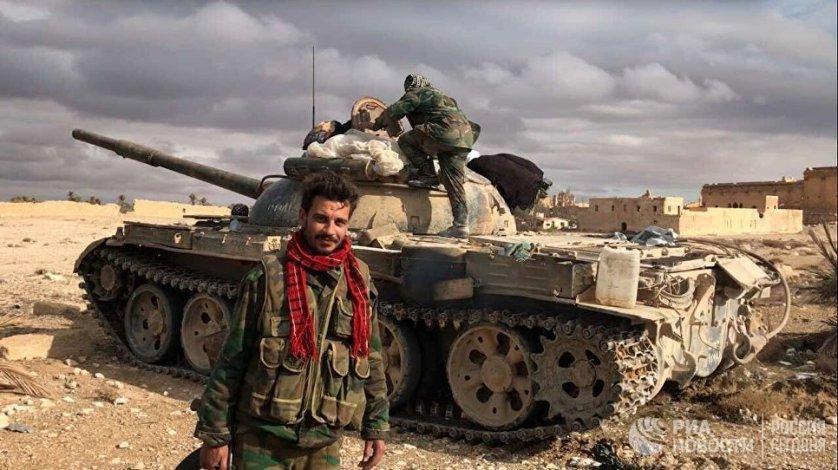 После взятия города вдоль некоторых развалин и колонн сирийские военные обнаружили кабели, которые предназначались для взрывчатки.