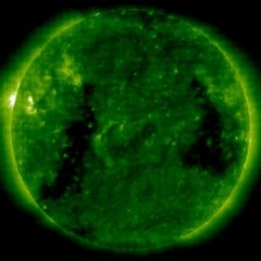 Planet-sized 'waves' spotted in the Sun's atmosphere