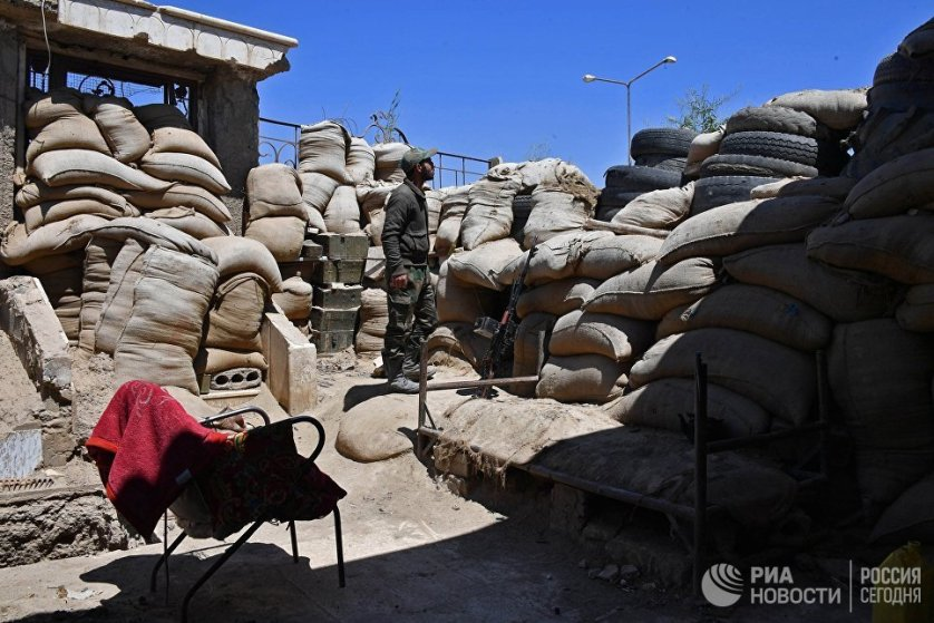Сирийская армия раз за разом отражает нападения противника.
