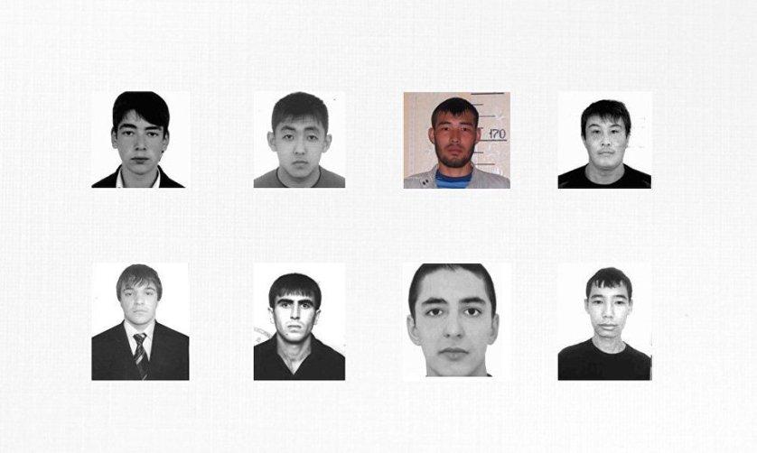 Фотографии подозреваемых в убийстве полицейских в Ленинском районе Астрахани