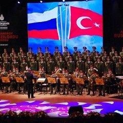 В Стамбуле выступил Ансамбль имени Александрова