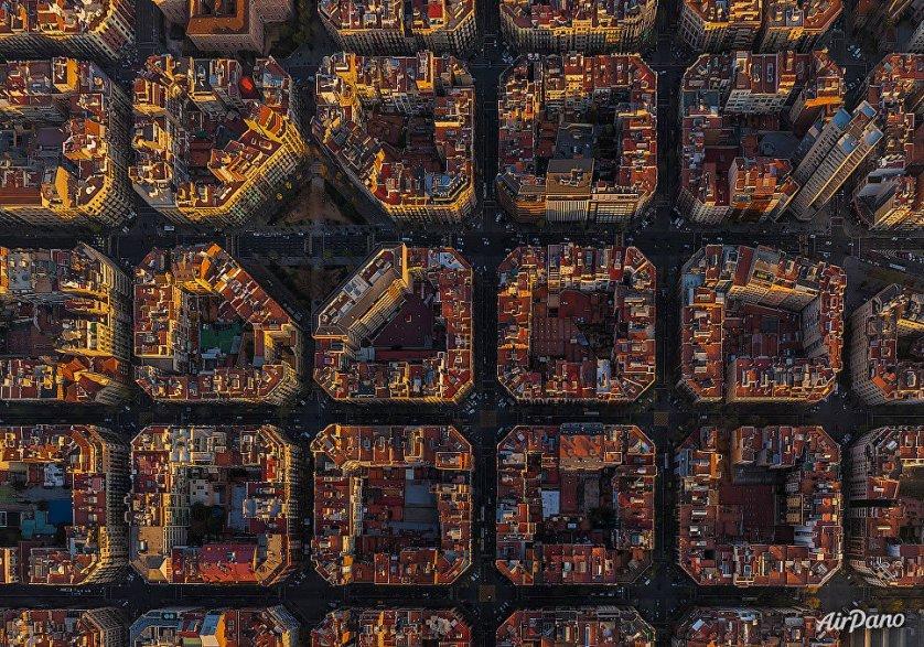 Дома в Барселоне, Испания.