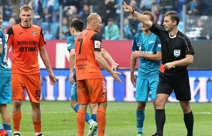 КДК РФС рассмотрит неподобающее поведение игроков «Урала» в матче с «Зенитом»