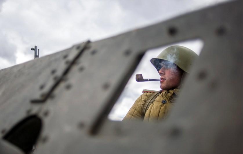 Военно-историческая реконструкция «Штурм Берлина»