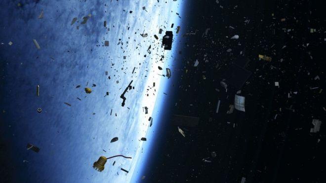 كثرة النفايات باتت تشكل تهديدا للبعثات الفضائية
