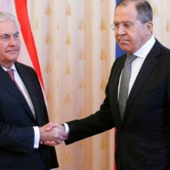 American secretary of state Tillerson's press conference in Moscow
