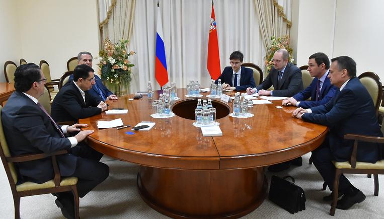 Буцаев обсудил с делегацией из Ливана вопросы торгово‑экономического партнерства