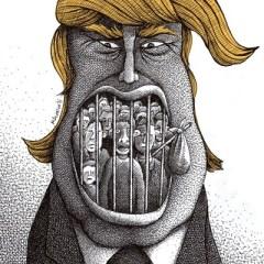 قيود  ترامب على المهاجرين