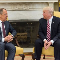 В Кремле отреагировали на скандал вокруг встречи Трампа с Лавровым