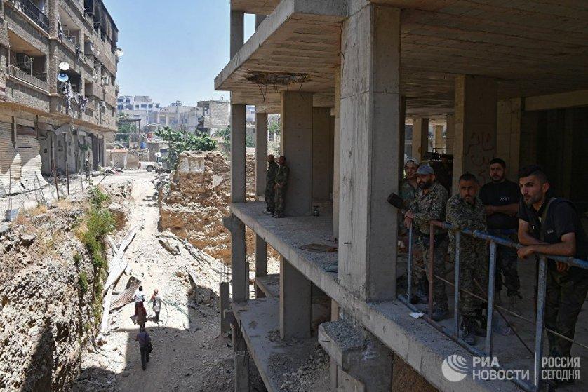 По словам губернатора провинции Дамаск Алаеддина Ибрагима, после успешного проведения последнего этапа по выводу вооруженных групп Кабун полностью освобожден от террористов.