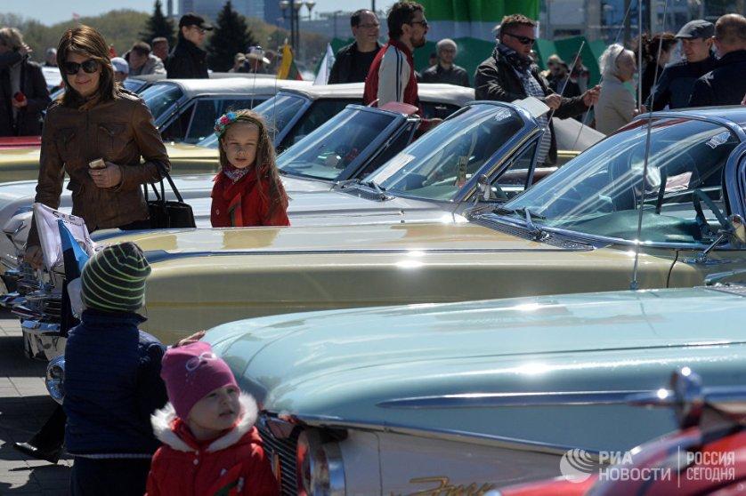 К участию в фестивале допустили машины, прошедшие строгий конкурсный отбор.