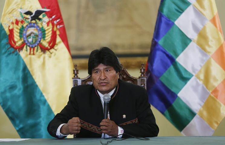 Президент Боливии назвал Трампа деспотом