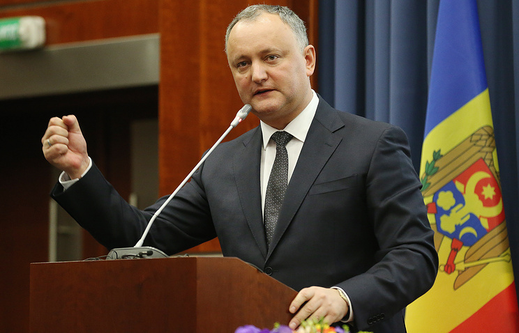 Президент Молдавии осудил решение о высылке пяти российских дипломатов