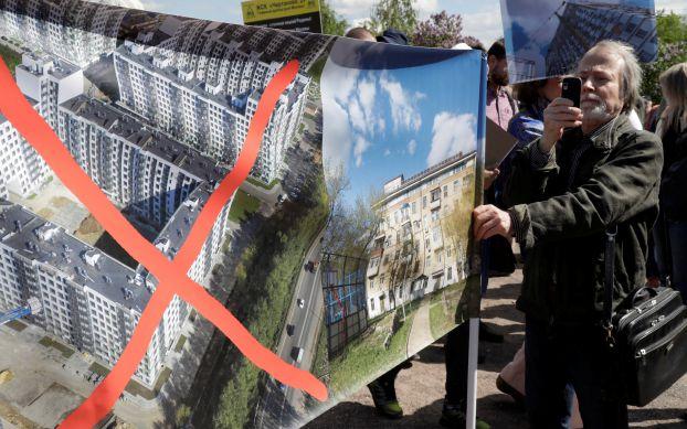 آلاف يحتجون في موسكو على خطط تغيير سكنهم