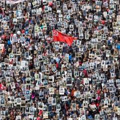 Почти 8 млн человек в России стали участниками шествий «Бессмертный полк»