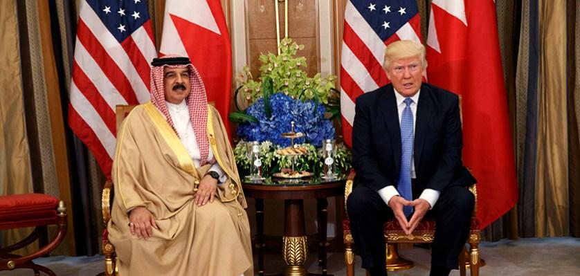 Donald Trump, Hamad bin Isa Al Khalifa