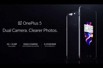 OnePlus 5 «убийца всех флагманов» представлен официально